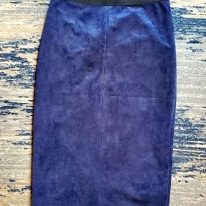 BCBG lined back zip pencil skirt